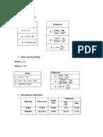 Cálculos Compresion Simple