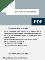 DERECHO TRIBUTARIO I (CÓDIGO TRIBUTARIO) - Semana 12 Organos Jurisdiccionales