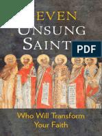 Seven Unsung Saints Who Will Transform Your Faith