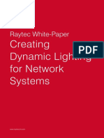 Raytec White Paper - Creating Dynamic Lighting for Network Systems