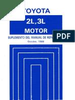manual de reparacion motor toyota 2l pdf rh scribd com Toyota AR Engine Toyota 2.2 Engine Diagram