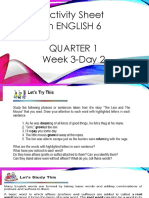 English 6 w3d2