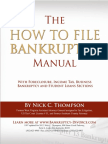 How to File Bankruptcy Manual