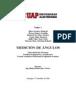 Angulos de Medicion