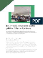 23-06-2017 Los Jóvenes Corazón Del Cambio Político Gilberto Gutiérrez