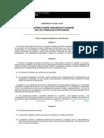 Convenio 152 OIT - Seguridad e Higiene TP
