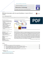 Microbial Electrolysis Cells for Waste Biorefinery. a State of the Art Review