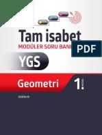 YGS Geometri Tam İsabet Soru Bankası