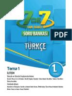7. Sınıf Türkçe Tam İsabet Soru Bankası