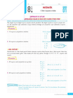 8.Sınıf Matematik PDF