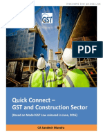 GST Book Construction