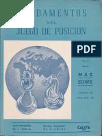 Euwe Max -Fundamentos Del Juego de Posicional, 1954-OCR-97p