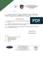 Izvršenje Budžeta Za 2014 - Izvještaj
