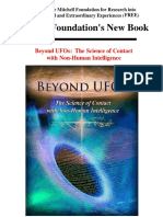 Beyond UFOs - The Science of Contact With Non Human Intelligence - FREE Foundation's First Book, Outline