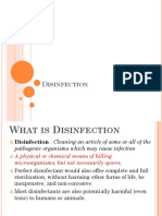 22. Disinfection