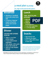 Sample Meal Plan Low-carb Diet Accessibility-checked