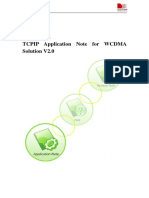 Tcpip Application Note for Wcdma Solution v2.0 0