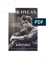 Bob Dylan - Kronike (Prvi Dio)