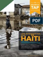 Haiti-TAP Exec Summary-FR 0