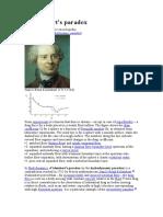 D'Alembert's Paradox