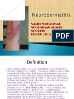 Neuro Dermatitis