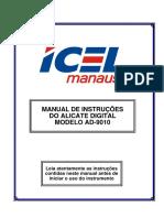 Amperímetro Manual Do Usuário Da Icel - 19mar17