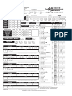 Orrig Character Sheet