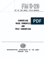 FM 5-20 Camouflage, Bacis Principles and Field Camouflage (21 JAN 1959)
