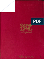 Canon F1 Sales Manual(1)