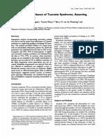 1995 Intermediate Inheritance Assuming Assortative Mating Tourette