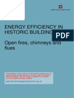 Open Fires Chimneys and Flues