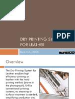 Dry Printing