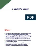 05.Anti Epileptic Drugs