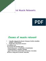 07.Muscle Relaxante