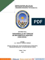 DESARROLLO DE TÓPICOS DE MATEMATICA ASISTIDOS CON EXCEL.pdf