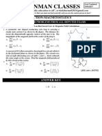 Magnetostatic Problem Sheet