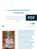 Improving Your Businesss Profitability