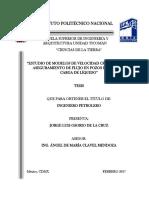 Estudio de Modelos de Velocidad Crítica Para El Aseguramiento de Flujo en Pozos de Gas Con Carga de Líquido