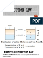 Distribution Law