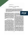 Article. Edward Pace. Schizophrenia as a Recent Disease