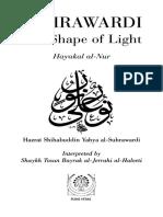 Shihabuddun Yahaya Al-Suhrawardi - The Shape of Light- Hayakal Al-Nur