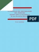 La Soledad Del Historiador Del Derecho