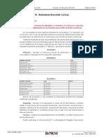 Lista Provisional de Admitidos y Excluidos en El Proceso Selectivo PSICOLOGO BORM 2017