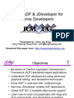 Oracle ADF for Forms Developers