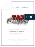 Tax Structure in India Final