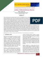 Dynamic Simulation of Industrial Reformer Reactors