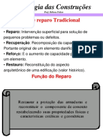 PATOLOGIAS 3 - Sistema de Reparos