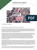 Indoprogress.com-Aksi Massa Dalam Perspektif Islam Progresif