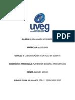 Bien Planeación Informe de Experimento Vianey