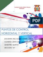 Puntos de Control Informe